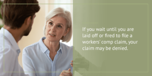 Lawyer discussing a case with her client